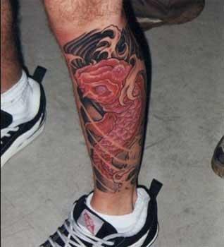 Tattoo на ноге | Татуировку .РФ - фото и эскизы татуировок ...