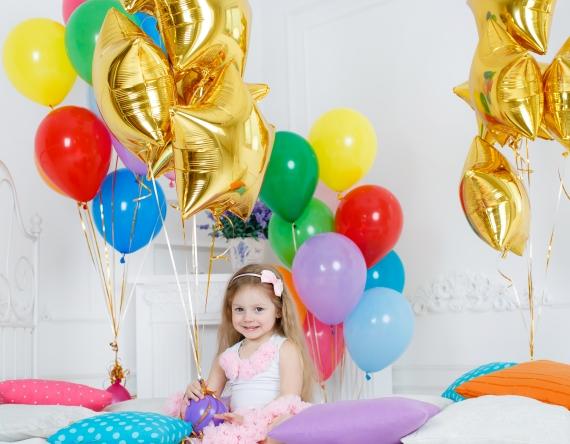 Украшение комнаты воздушными шарами (декор): заказать в ...
