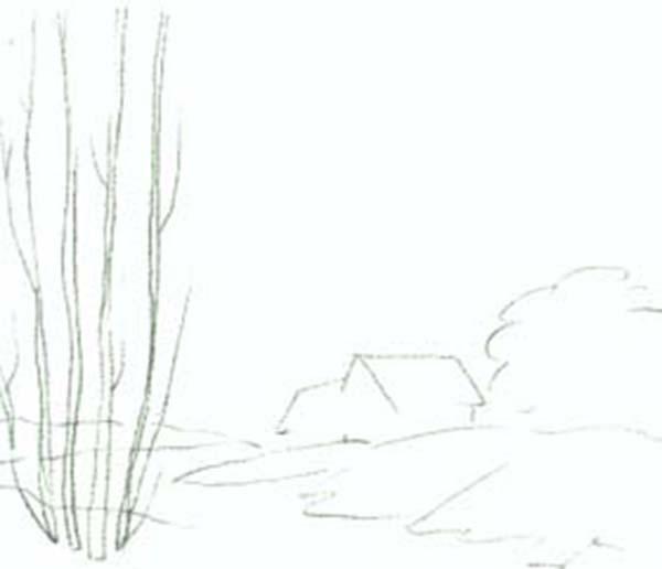 "Пейзаж ""Весеннее утро"""