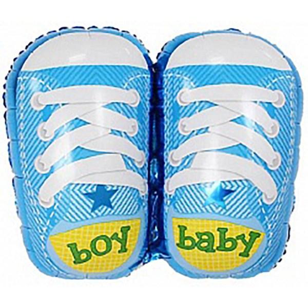 """Шарик из фольги """"Ботиночки для мальчика"""""""