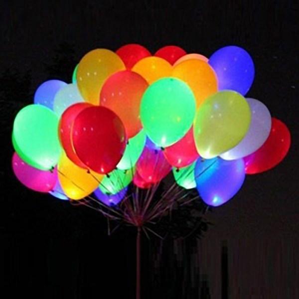 Воздушные шары светящиеся