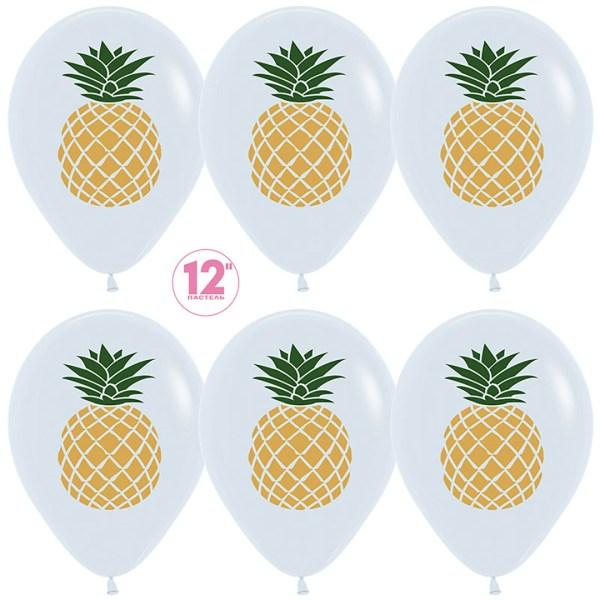 Воздушный шар с ананасом