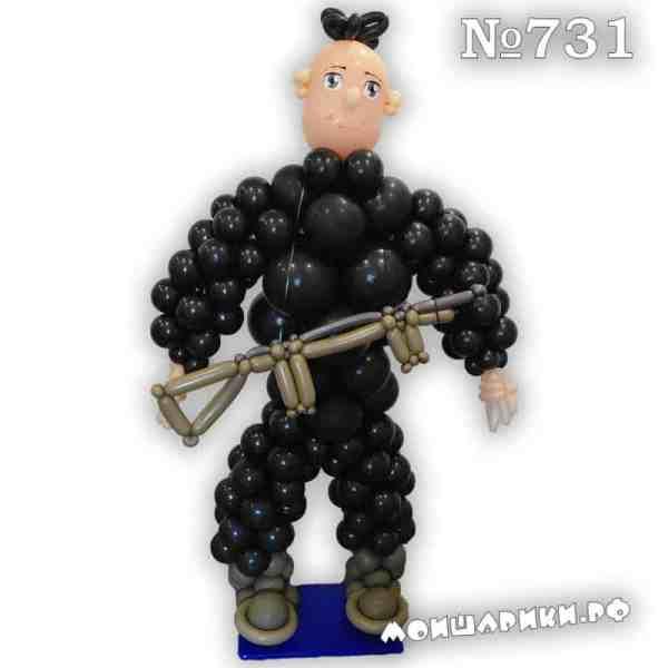 Охранник из воздушных шаров