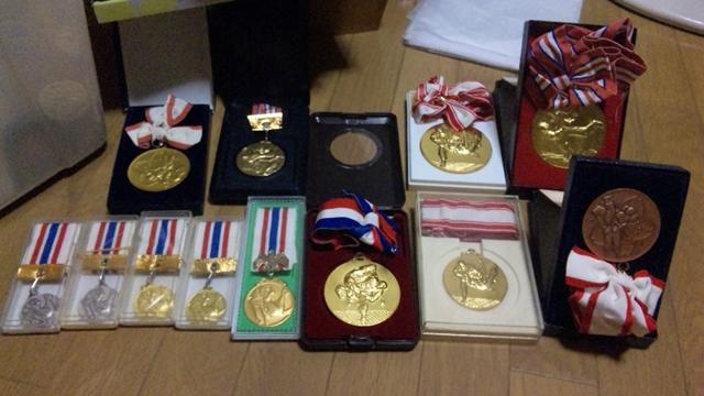 獲得メダル