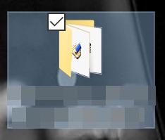 解凍したファイル