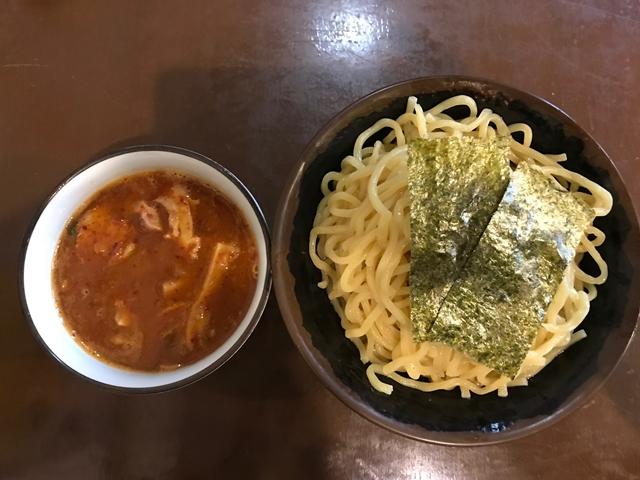 辛つけ麺(特盛)