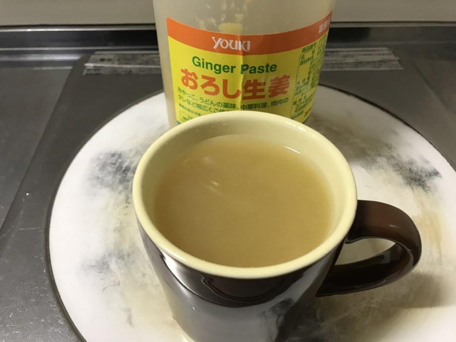 手作り生姜湯