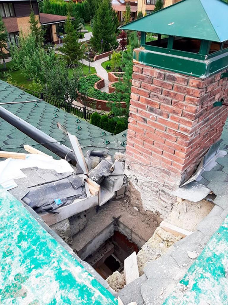 Резка проема в бетонном перекрытии