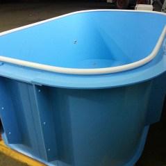 Микро бассейн из полипропилена.