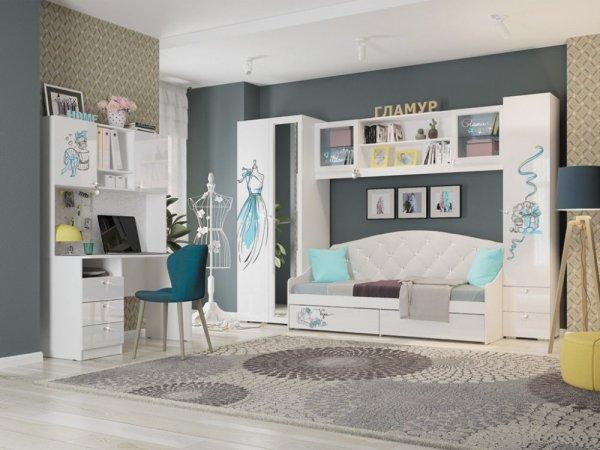 Детская модульная мебель Гламур купить в Екатеринбурге ...
