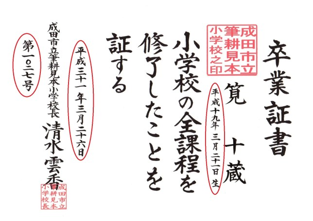 【漢数字の書き方のルール】番号・日付・番地・西暦・和暦