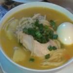 receta de caldo de gallina