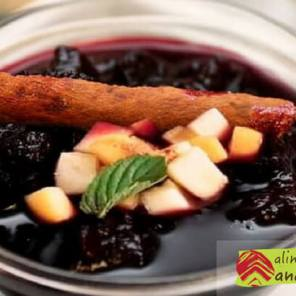 receta de Mazamorra morada