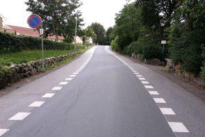 Baunevej, Alsønderup bliver til 2-1 vej