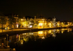 Spaarne 's nachts