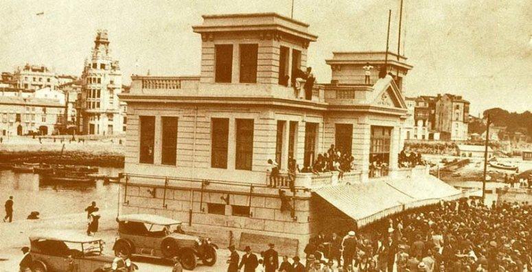 Inauguración en 1929 del Real Club Náutico