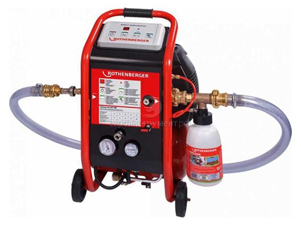Промывочный компрессор Rothenberger Ropuls + инжектор ...