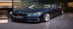 Лазерни фарове на BMW 7 Series