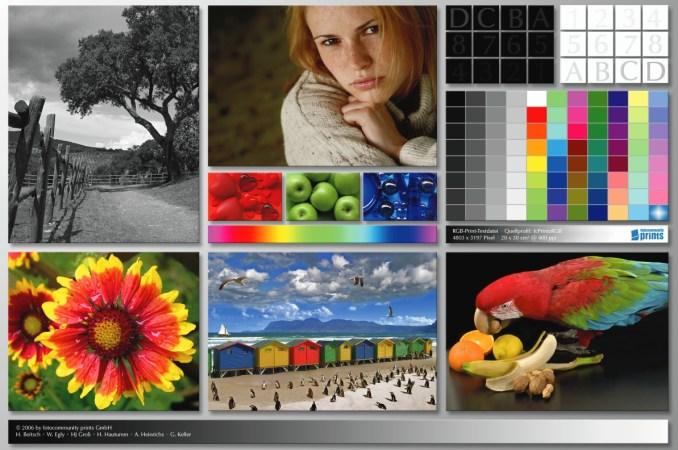 Epson L110 | Цветопроба