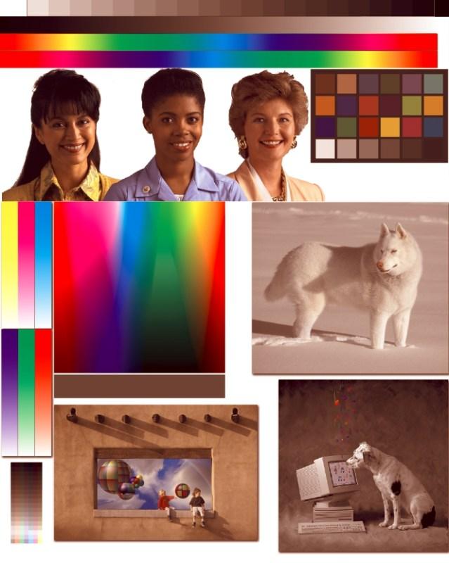 Цветовой профиль принтера Epson L222 | Имитация печати без профиля