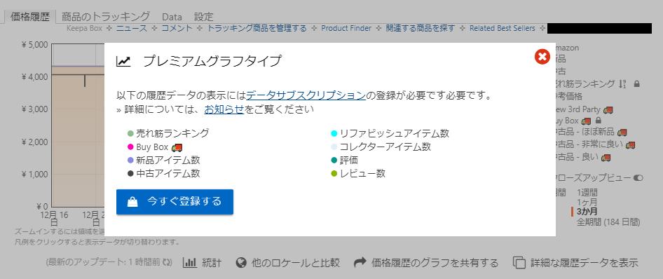 Keepa 有料化 有料版 登録 解約 方法 手順