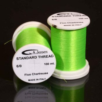 6-0 thread -fluo chartreuse