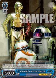 BB8&R2-D2&C-3PO(ヴァイスシュヴァルツ「STARWARS」BOX特典PRプロモカード)