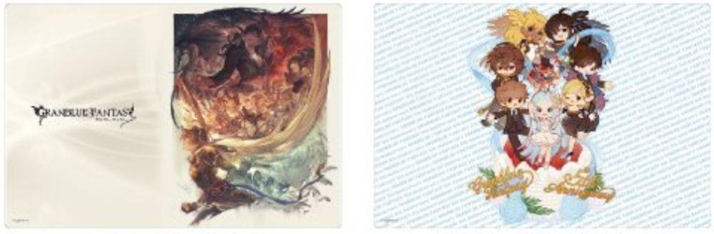 【サプライ】グランブルーファンタジー(グラブル)のスリーブ&ラバーマットが2019年6月7日に発売決定!