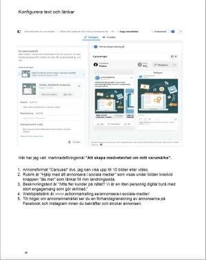 annonsera på Google och Facebook