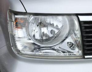 三菱 EKワゴン H81W ヘッドライト磨き!黄ばみ 曇り取り 施工後