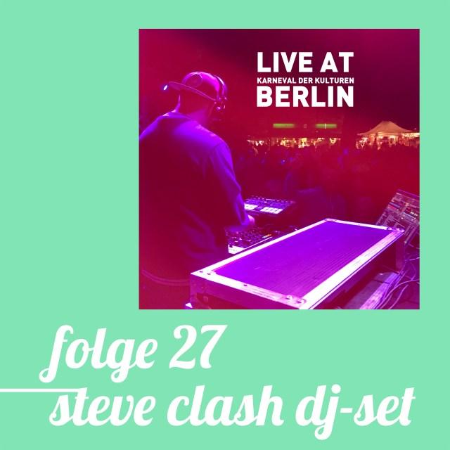 un027 - steve clash DJ-set
