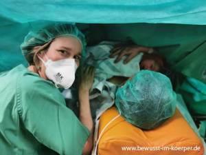 Doula im Kaiserschnitt