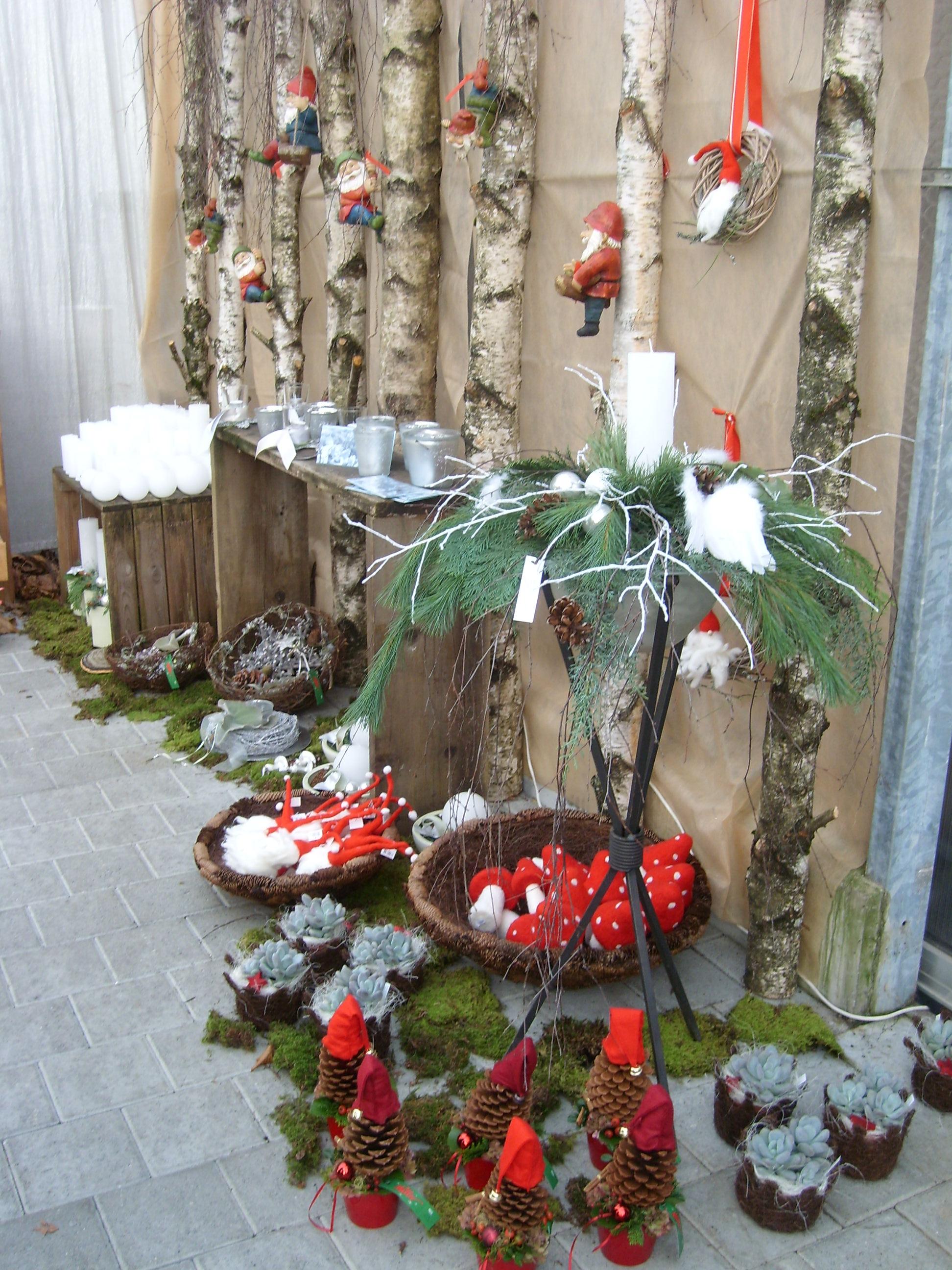 Weihnachtsausstellung Blumen-Gärtnerei Müller 2010