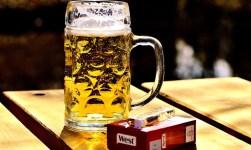 alkohol sigaretter