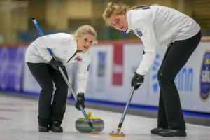 curling damer