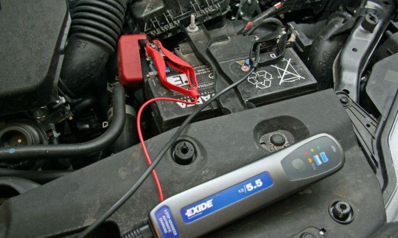 bilbatteri lader