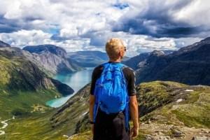 natur ungdom turisme fjell