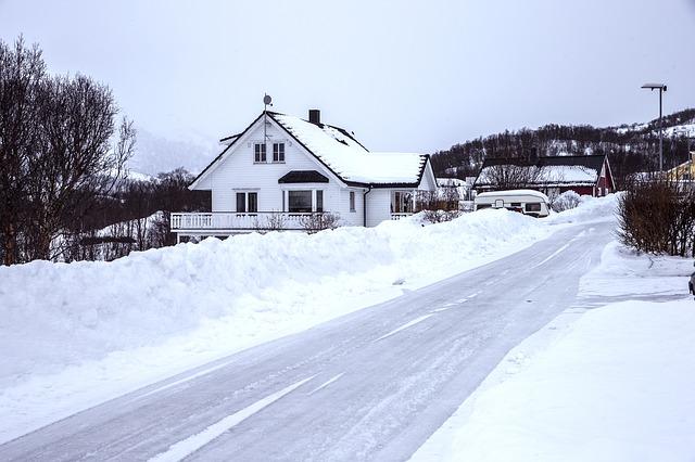 snø hus