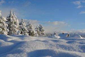 hytte vinter ferie