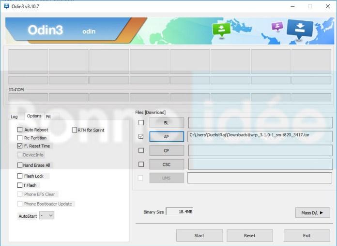 installer Firmware sur Samsung avec Odin Tool