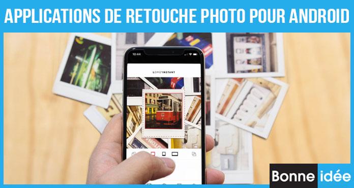 Applications de Retouche Photo