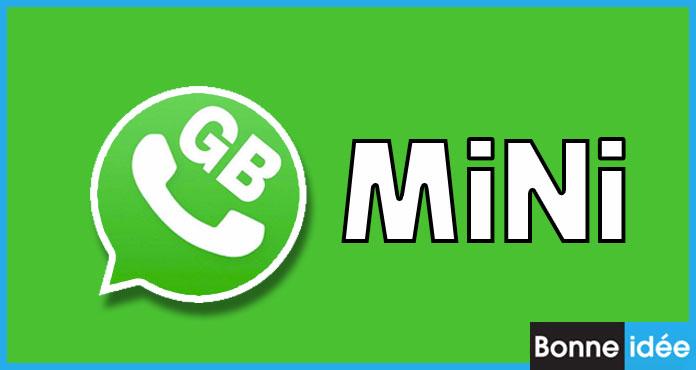GBWhatsApp MiNi APK Télécharger