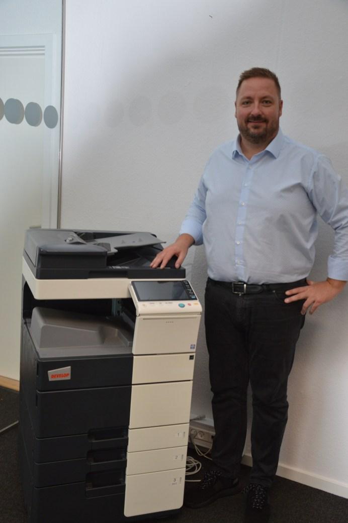 Jørn Koch Andersen – indehaver af firmaet PrinterEksperten ApS
