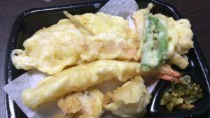 海鮮天丼は常温保存が基本