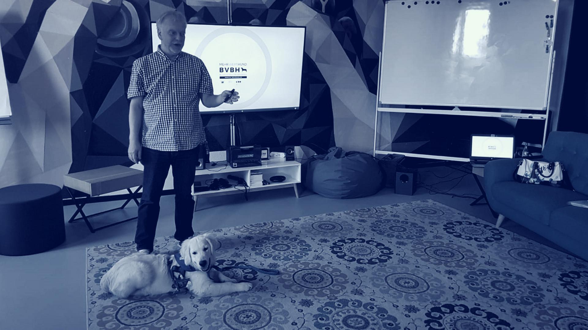 BVBH Seminar Hundehalter Bürohund