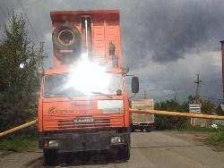 22.09.18 — повреждение газопровода в результате ДТП в Тульской области