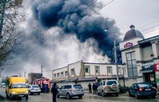 12.01.19 — взрыв газовых баллонов при ведении работ на кровле многоквартирного дома в Крыму