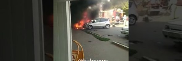 15.09.19 — взрыв газового баллона в автомобиле в Тихорецке