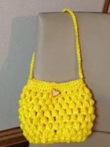 テープ バッグ 図 スズラン 編み