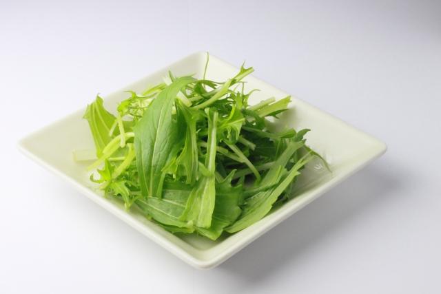 水菜 栄養 効能